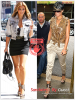 » Un air de déjà vu...Kim Kardashian et Rihanna ont craqué sur les  mêmes sandales ! Un détail qui n'a pas échappé à la Fashion Police de RihannaLook ! Alors ... votre préférence ?