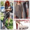 """# # Rihanna porte une un haut, une jupe   """" Helmut Lang """" qui coûte   255 $ ! et   320 $ !, des sandales """" Christian Louboutin """" qui coûte   1,095 $ !  Remarque * Hier, La belle Rihanna a été aperçue en pleine séance de shopping dans la  célèbre boutique de lingerie """"Kiki de Montparnasse"""" à Hollywood. Ensuite la jeune femme de 23 ans, s'est rendue chez un(e) ami(e)  à Los Angeles, toujours aussi lookée !  La chanteuse portait : un haut gris transparent griffé Helmut Lang, une longue jupe rayée fendue sur le côté également griffée Helmut Lang, des nouvelles sandales Louboutin, quelques bijoux et des lunettes de soleil Cat Eye. Rihanna fait avec cette tenue un parfait sans faute !"""