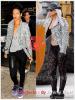 » Un air de déjà vu...  Rihanna et Lady Gaga ont craqué sur le  même perfecto ! Un détail qui n'a pas échappé à la Fashion Police de RihannaLook ! Alors ... votre préférence ?