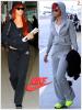 """» Voici deux """" ensembles Nike  """" que la chanteuse Rihanna a porté  : Parmi ces deux modèles différents, Choisissez votre  ensemble Nike  favori !"""
