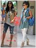 » Un air de déjà vu... Kim Kardashian et Rihanna ont craqué sur les  mêmes boots ! Un détail qui n'a pas échappé à la Fashion Police de RihannaLook ! Alors ... votre préférence ?