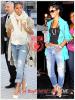 » Un air de déjà vu... Cassie et Rihanna ont craqué sur le  même jean boyfriend ! Un détail qui n'a pas échappé à la Fashion Police de RihannaLook ! Alors ... votre préférence ?