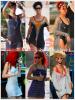 """»  Voici quelques """" looks de plage """" que la chanteuse Rihanna a porté : Choisissez votre look de plage  favori !  Article  collaboration avec Rihanna1420"""