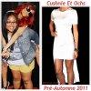 """# # Rihanna porte une robe   """" Cushnie Et Ochs """"  Collection pré-automne 2011 Remarque *   Pour le Meet & Greet  à Long Island dans le cadre de sa tournée «Loud Tour», Rihanna était toujours aussi  proche de sa «Navy» (ses fans). D'ailleurs, La chanteuse était très heureuse ce soir là car sa mère et   sa grand mère sont venus la voir en concert.VOIR LA PHOTO  Après son show, la jeune femme s'est rendue dans le club «Greenhouse», accompagnée de sa cousine Noella. La belle Barbadienne, arborait son look fétiche du moment : «fashion-décontracté» ! Elle portait : une robe blanche très asymétrique signée Cushnie Et Ochs dévoilant ses jambes de rêves, une casquette sur la tête, une paire de Vans aux pieds et de nombreux bijoux."""