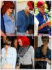 """» Voici quelques """" chemises en jean  """" que la chanteuse Rihanna a porté  : Choisissez votre  chemise en jean   favorite !  Article  collaboration avec FlashBack-Rihanna"""