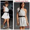 """# # Rihanna porte une robe """"   Camilla and Marc """"  qui coûte 490 $ !  Remarque *  Le 02 Septembre 2011, Rihanna a été aperçue arrivant à un studio à Los Angeles, dans une tenue plutôt féminine. La jeune Barbadienne, arborait : une robe asymétrique rayée façon marinière griffée Camilla and Marc, une ceinture en cuir pour cintrer sa robe et une paire de tennis Vans aux pieds pour le coté femme enfant. Un look 100% réussi, à copier à  tout prix !"""