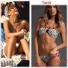 """# # Rihanna porte un bikini """"   Tavik """"  qui coûte 51, 77 ¤ !  Remarque *  Le 19 septembre 2011, Rihanna été de  passage au Brésil pour assurer plusieurs dates de sa tournée, le Loud Tour, Rihanna a profité du soleil et de la plage à Rio de Janeiro. L'interprète de We Found Love, arborait un nouveau bikini griffé Tavik assortie au bandeau dans ses cheveux ! La jeune femme, s'est accordée quelques moments de détente   et n'a pas hésité a s'offrir des nouveaux bikinis chez des vendeurs à la sauvette sur une des plages de Rio."""
