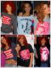 """» Voici quelques """" produits promotionnels  """" que la chanteuse Rihanna a porté  : Choisissez votre  produit promotionnel   favori !  Article  collaboration avec FlashBack-Rihanna"""
