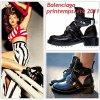 """# # Rihanna porte des boots """" Balenciaga """"  collection printemps / été 2011.  Remarque * Pour la pochette de son tube We found love, Rihanna est dans une rue vide, en black and white, vêtue d'un jean XL baggy, d'une large chemise en jean, un bandana dans les cheveux et une paire de boots incroyable griffée Balenciaga collection printemps 2011. Un  style bad girl des rues du Bronx, en parfaite adéquation avec l'image de son nouveau album. #TalkThatTalkBITCH!"""