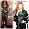 """# # Rihanna porte un perfecto """"  Claire Barrow """"    qui coûte 2,160 $ € ! Remarque * La belle Rihanna a été aperçue le 27 janvier à la première de Michael Jackson : The Immortal World Tour, le nouveau show du Cirque du Soleil au Staples Center, de Los Angeles. A cette occasion, la princesse de la Barbade est apparue très sexy vêtue d'un total look cuir : legging en cuir signé Helmut Lang, grand perfecto Claire Barrow, paire de lunettes de soleil signée Miu-Miu et paire de Louboutin aux pieds. Je sais pas pour vous mais moi : I like it, like it !"""