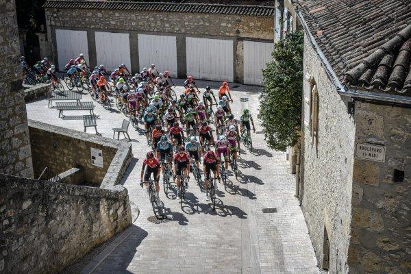 avant le tour de France 2021, le tour en occitanie