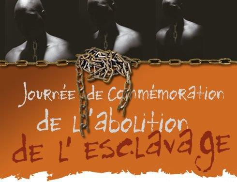 Journée de comémoration de l'abolition de l'esclavage