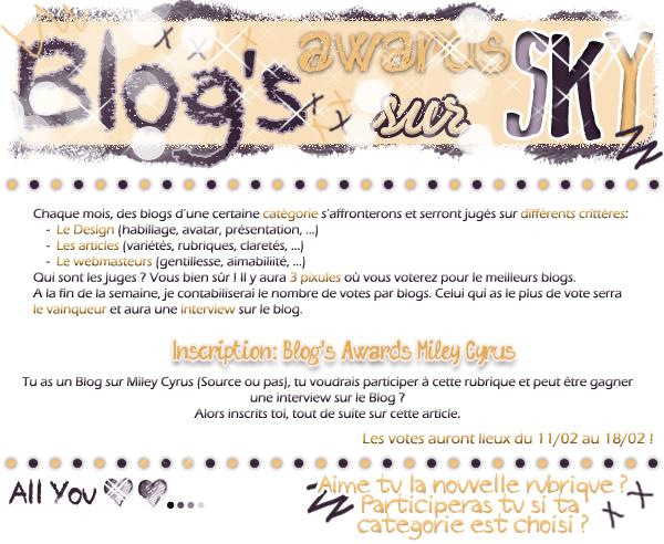 09 - Blog's Awards 1