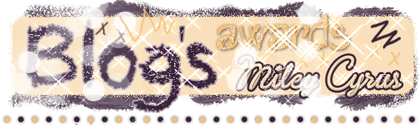 10 - Blog's Awards Miley Cyrus
