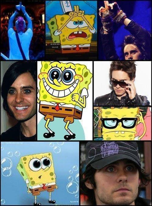 Sponge Bob Copie sur Jared !!
