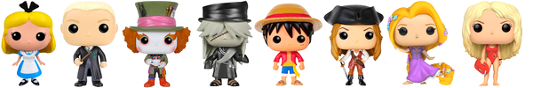 Figurines pop
