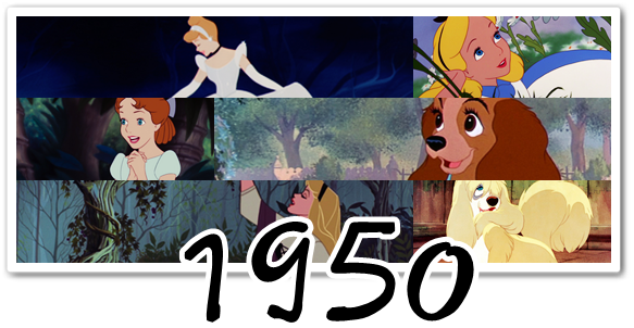 Disney : chansons des héroïnes (1930-1950)