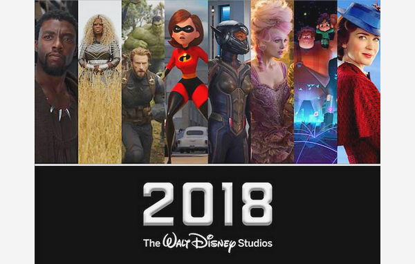 Films Disney / Marvel etc... - Top 2018