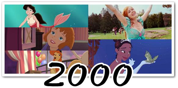 Disney : chansons des héroïnes (1990-2010)
