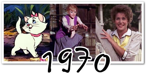 Disney : chansons des héroïnes (1960-1980)