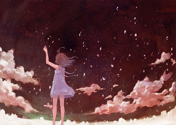 Tout oublier l'espace d'un instant, et tout recommencer à zéro, comme si la vie ne serait jamais la même.