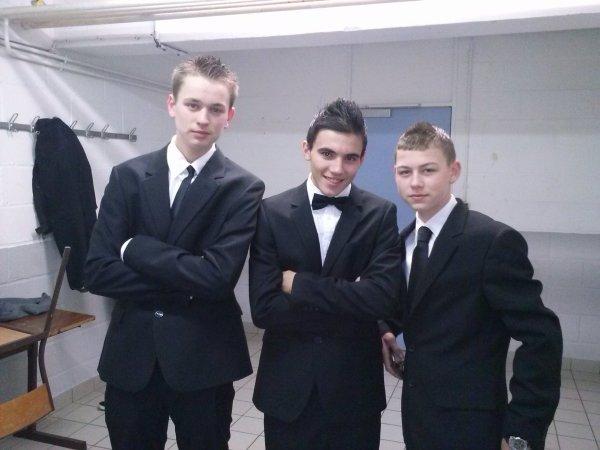 Moi, Logan, Romain :)