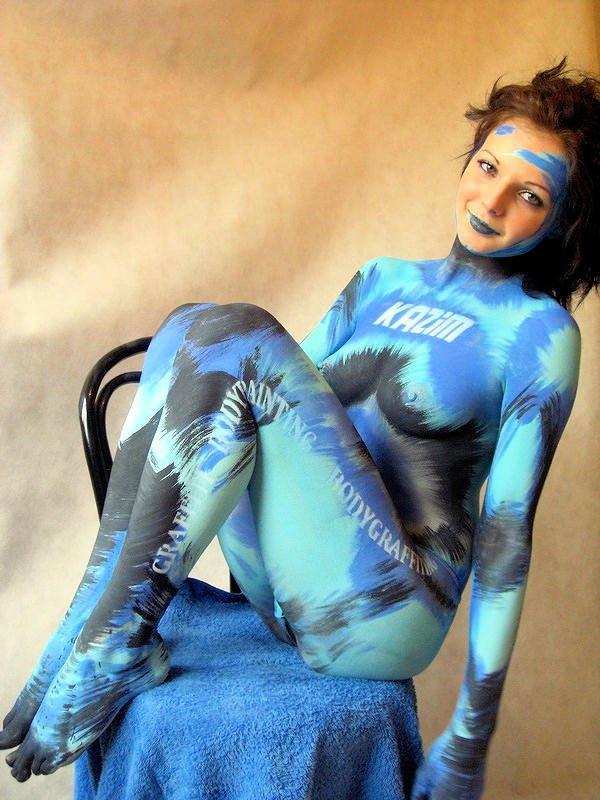 peinture sur corps ou body painting, vous en pensez quoi ?