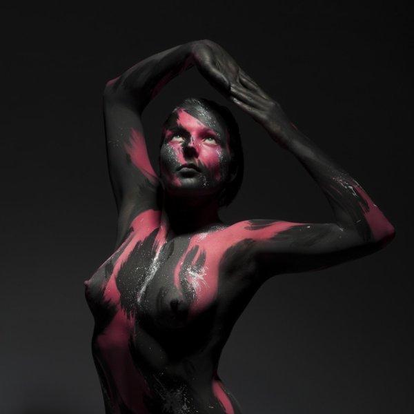Body painting - Vulcano