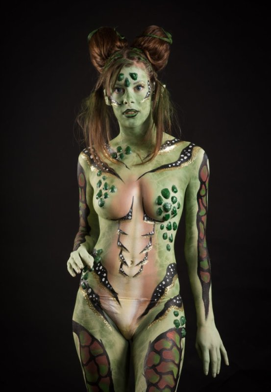 My new bodypaint !!