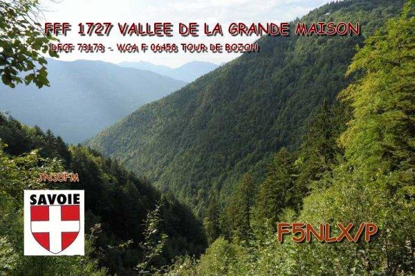 FFF 1727 VALLEE DE LA GRANDE MAISON