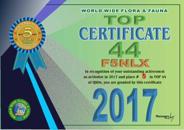 AWARD FFF 2017