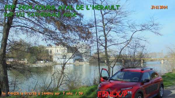 FFF 2404 COURS AVAL DE L'HERAULT