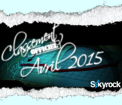 CLASSEMENT AVRIL 2015