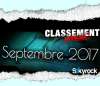 CLASSEMENT SEPTEMBRE 2017