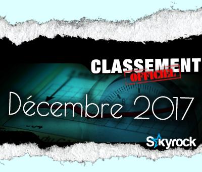 CLASSEMENT DÉCEMBRE 2017