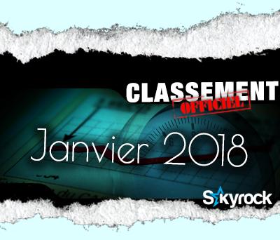 CLASSEMENT JANVIER 2018