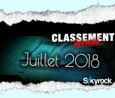 CLASSEMENT JUILLET 2018