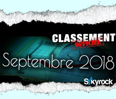 CLASSEMENT SEPTEMBRE 2018