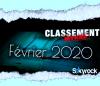 CLASSEMENT FEVRIER 2020