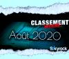 CLASSEMENT AOÛT 2020