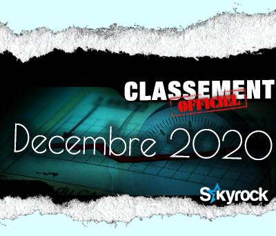 CLASSEMENT DECEMBRE 2020