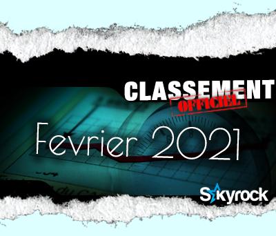 CLASSEMENT FEVRIER 2021