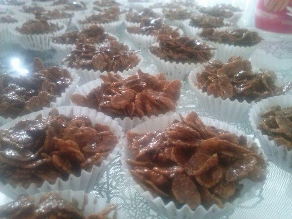 rose des sables au chocolat miam !!!