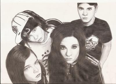3. dessin (198) - Tokio Hotel