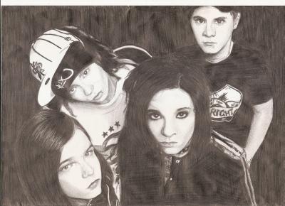 4. dessin (198) - Tokio Hotel