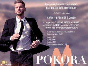Le concert de Bercy diffusé au cinéma !