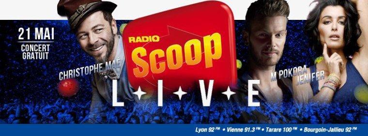 Concert radio scoop
