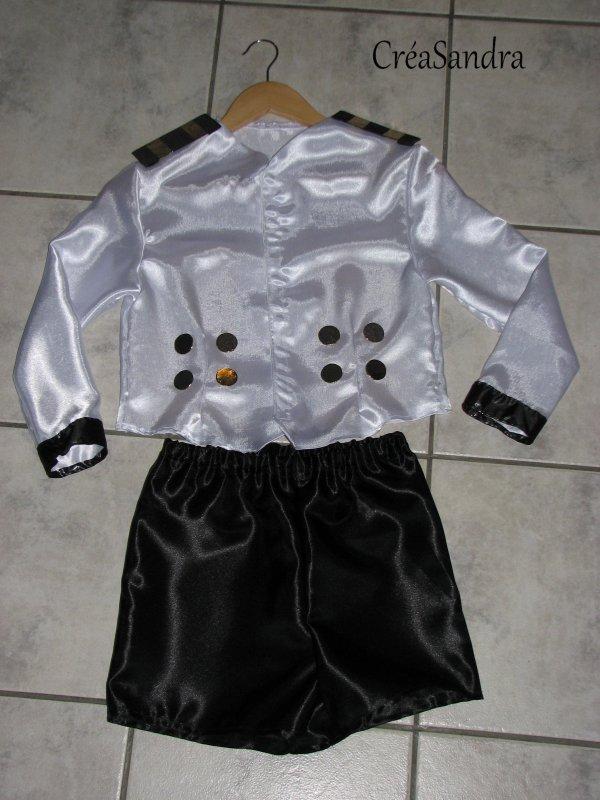 """Costume """"Capitaine"""" pour Célia"""