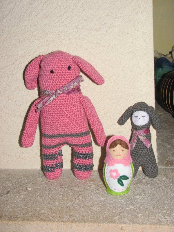 Doudous crochet