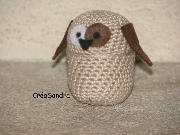 Chien crochet